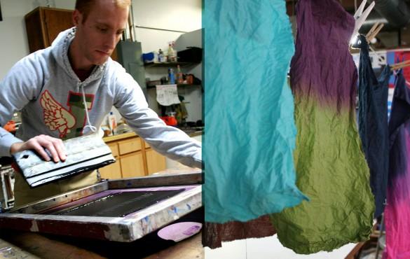 Photo Screenprinting Fabric