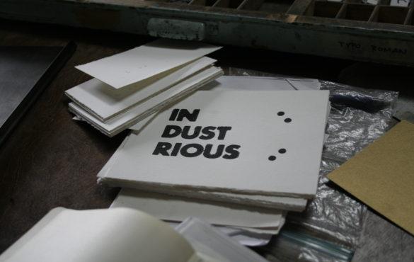 diy greeting cards letterpress printing spudnik press - Letterpress Greeting Cards