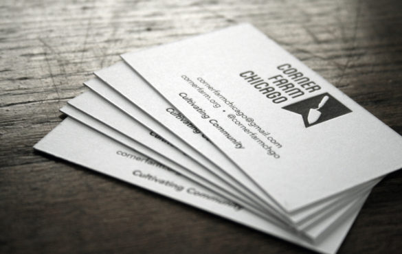 Photo Business Card 1