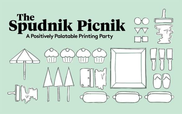 SpudnikPicnik - Web Announcement Design - D3