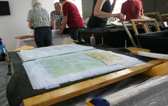 Papermaking Basics (March) | Spudnik Press