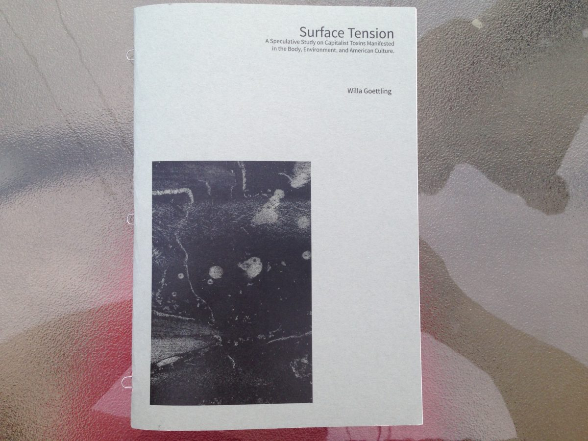 Surface Tension Artist Book